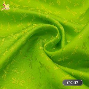 Vải lụa tơ tằm chuồn chuồn là dong sản phẩm với hoa văn đặc biệt đến từ làng lụa Nha Xá