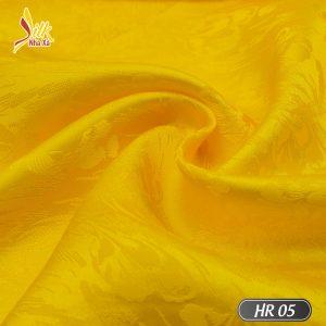 Vải lụa tơ tằm pha tơ bóng Viscose kiểu dệt Jacquard nhẹ thoáng, bóng mịn óng ánh đổi màu dưới nắng - HR05