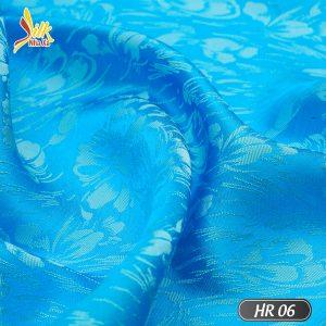 Vải lụa tơ tằm pha tơ bóng Viscose kiểu dệt Jacquard nhẹ thoáng, bóng mịn óng ánh đổi màu dưới nắng - HR06