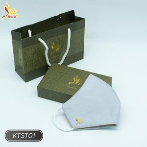 Khẩu trang lụa tơ tằm Nhaxasilk-KTST01