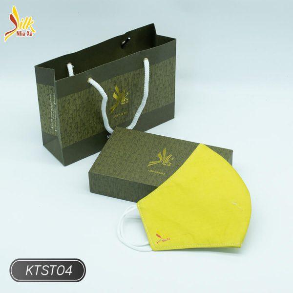 Khẩu trang lụa tơ tằm Nhaxasilk-KTST04