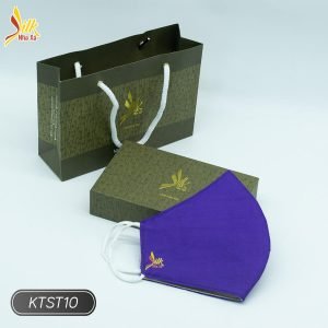 Khẩu trang lụa tơ tằm Nhaxasilk-KTST10