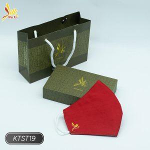 Khẩu trang lụa tơ tằm Nhaxasilk-KTST19