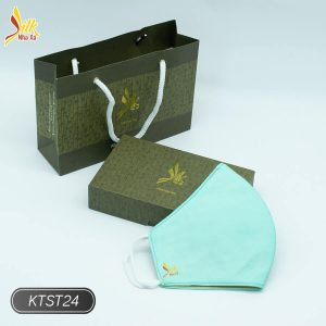 Khẩu trang lụa tơ tằm Nhaxasilk-KTST24