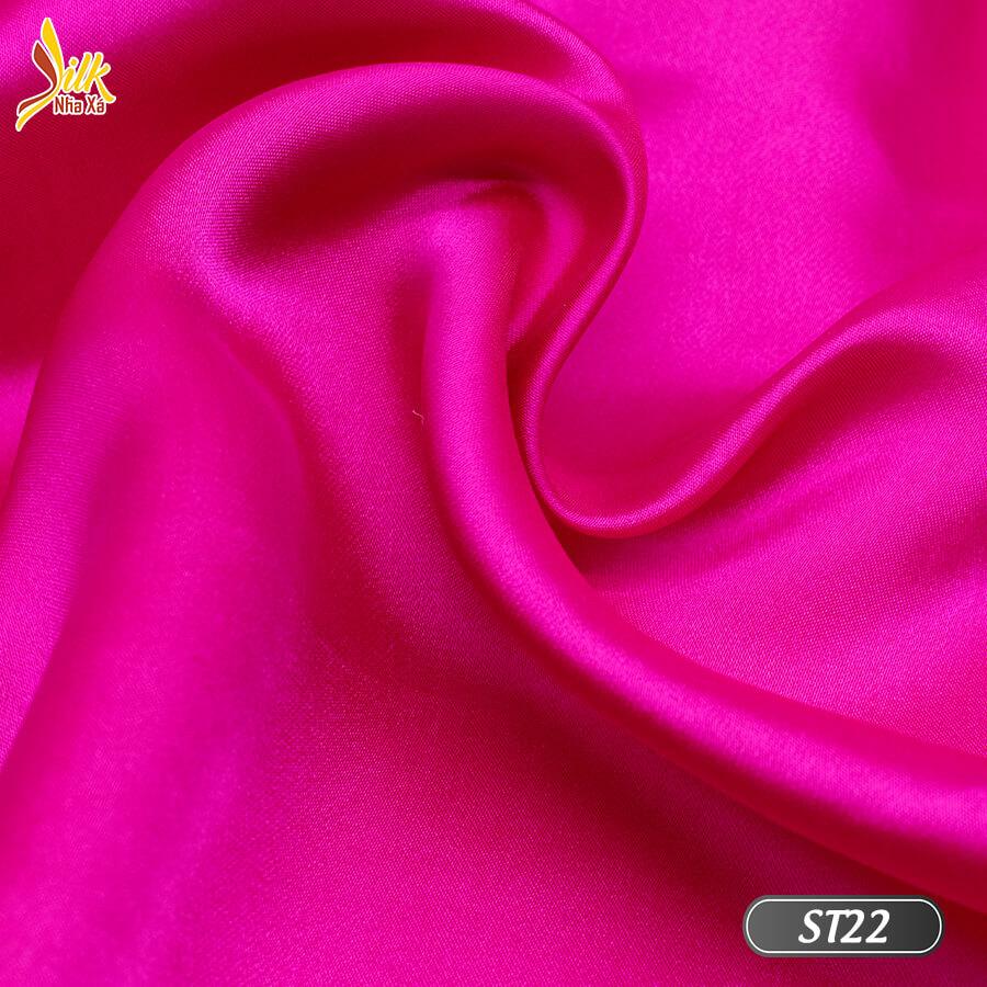 Vải lụa tơ tằm truyền thống-ST22
