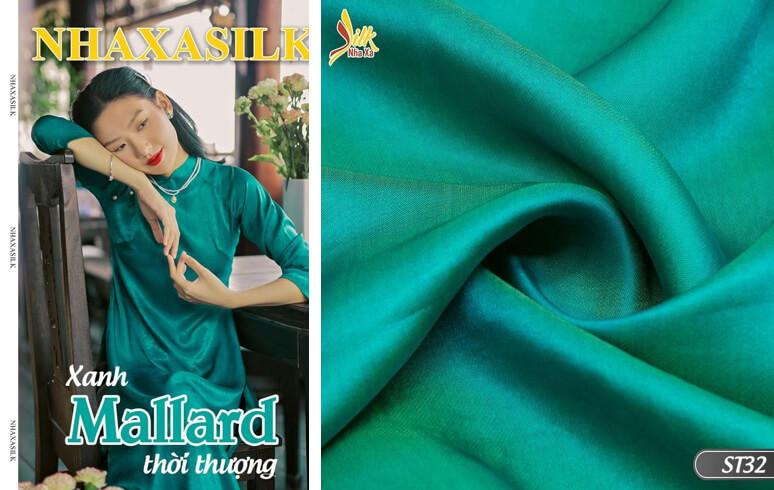 """Xanh mallard (Xanh cổ vịt) - Tông màu """"nịnh da"""" bậc nhất bảng màu sắc thời trang."""
